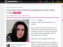 Examiner.com interviews Skint Press publisher